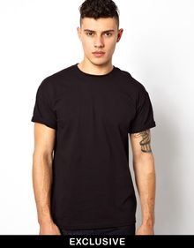 Calvin Klein T-shirt with Floral Border - Lyst