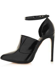 Topshop Poem Premium 2-Part Shoes - Lyst