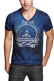 Guess Graphic Tshirt - Lyst