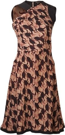 Sophie Theallet Tulip Print Dress - Lyst