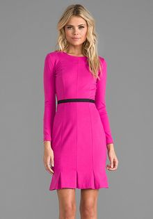 Erin Erin Fetherston Edda Dress in Fuchsia - Lyst