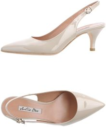 Julie Dee Slingbacks - Lyst