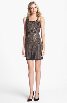 Alexia Admor Embellished Jersey Bodycon Dress - Lyst