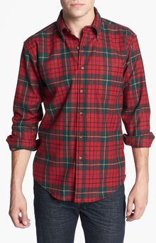 Pendleton Fireside Fitted Plaid Wool Flannel Shirt - Lyst