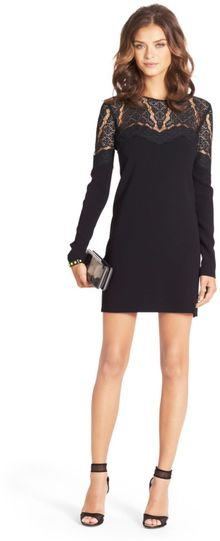 Diane Von Furstenberg Dahlia Lace Cutout Dress - Lyst