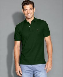 Tommy Hilfiger Polo-neck Tee - Lyst