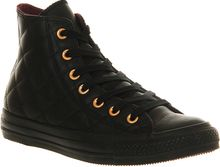 Converse All Star Quilted Leather Hightops - Lyst