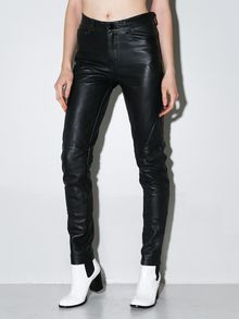 Horace Full Leather Jeans - Lyst