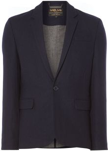 Label Lab Solomon Single Breasted Two Button Blazer - Lyst