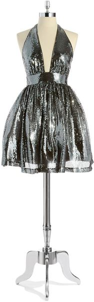 Alexia Admor Sequin Party Dress - Lyst