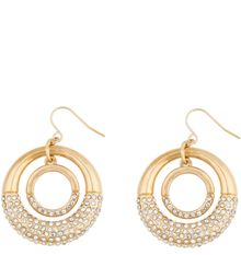 Kara Ross Metal Split Dome Outline Earrings - Lyst