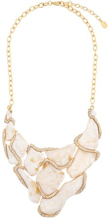 Kara Ross Scale Slab Link Necklace - Lyst