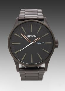 Nixon The Sentry Ss in Black - Lyst