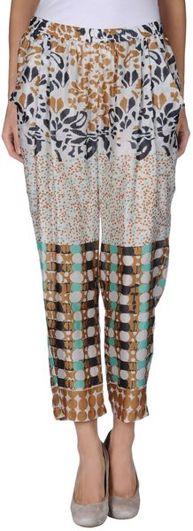 Alysi Casual Trouser - Lyst