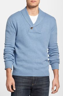 7 Diamonds Fantastic Voyage Shawl Collar Sweater - Lyst