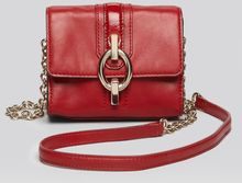 Diane Von Furstenberg Crossbody Sutra Micro Mini Mixed Leather - Lyst