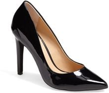 Joe's Erika Patent Leather Pointy Toe Pump - Lyst