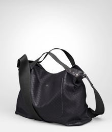 Bottega Veneta Tourmaline Intrecciomirage Lavé Cross Body Messenger - Lyst