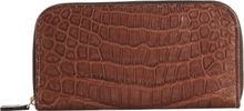 Zagliani Crocodile Zip Around Wallet - Lyst