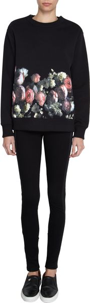 Givenchy Rose Print Sweater - Lyst