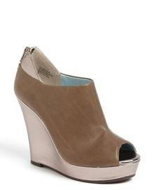 Seychelles Walking Tall Peep Toe Wedge - Lyst