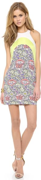 Just Cavalli Wandle Wallpaper Print Tank Dress - Lyst