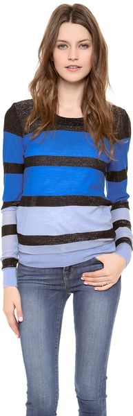 Sonia By Sonia Rykiel Striped Pullover - Lyst
