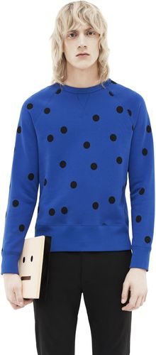 Acne College Dot Klein Blue - Lyst