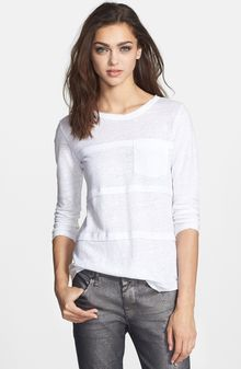 Marc By Marc Jacobs Carmen Tiered Jersey Tee - Lyst