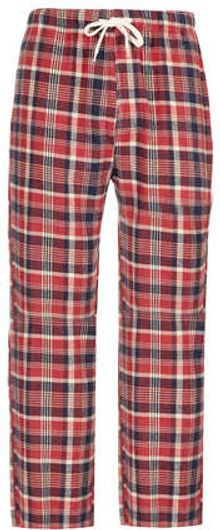 Topman Red Check Pyjama Bottoms - Lyst