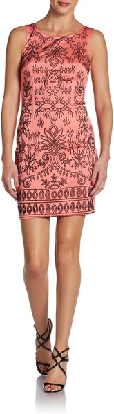 Alexia Admor Embellished Shift Dress - Lyst
