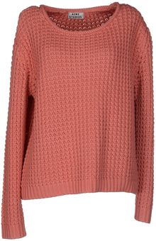 Acne Long Sleeve Jumper - Lyst