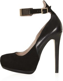 Topshop Scoop Platform Shoes - Lyst