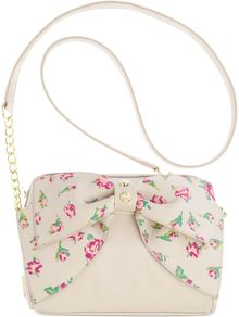 Betsey Johnson Bow Crossbody - Lyst