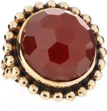 Stephen Dweck Faceted Red Agate Ring Size 7 - Lyst