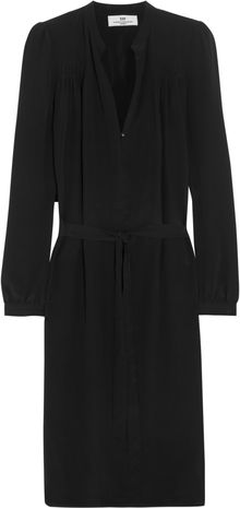 Day Birger Et Mikkelsen Silkcrepe Shirt Dress - Lyst