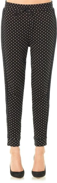 Elizabeth And James Polka Dot Cotton Joggers - Lyst