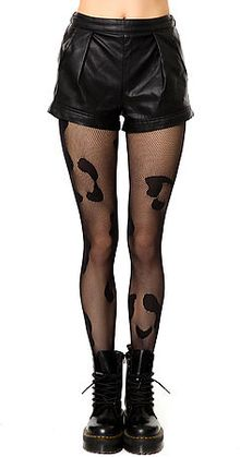 House Of Holland The Animal Fishnet Tights - Lyst