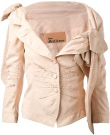 John Galliano Bow Detailed Jacket - Lyst