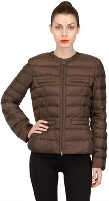 Add Water Resistant Light Short Down Jacket - Lyst