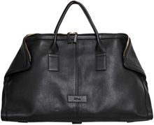 Alexander McQueen Leather Travel Duffle Bag - Lyst