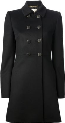 Emilio Pucci Double Breasted Short Coat - Lyst