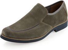 Hush Puppies® Lou Slipon Shoe Charcoal - Lyst