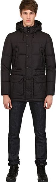 Add Techno Quilted Nylon Down Jacket - Lyst