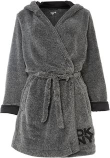 DKNY Short Robe - Lyst