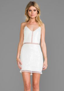 Dolce Vita Alva Dress in White - Lyst