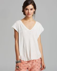 Free People Tee At The Seams - Lyst