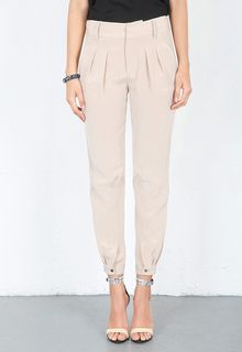 Haute Hippie Pleated Pants with Tabs - Lyst