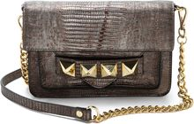 Linea Pelle Grayson Lizard Bar Bag - Lyst