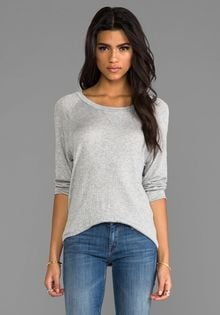 LNA Bearitz Raglan in Gray - Lyst